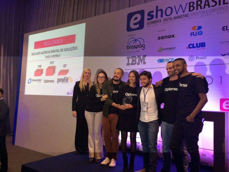 Best digital agency mobile optimise wins eawards brasil optimise